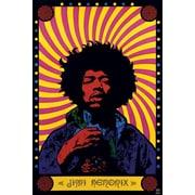Ace Framing Jimi Hendrix Psychedelic Framed Poster, 36 x 24