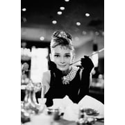 Ace Framing Audrey Hepburn Breakfast at Tiffany's Framed Poster, 36 x 24