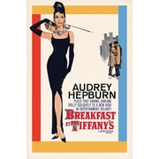 "Ace Framing ""Audrey Breakfast at Tiffanys"" Framed Poster, 36"" x 24"""