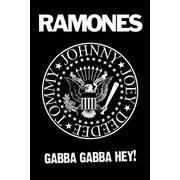 Pyramid America™ Ramones Gabba Hey Logo Poster