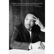 "Pyramid America™ ""Martin Luther King - Darkness"" Poster"