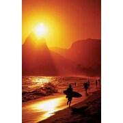 Ace Framing Ipanema Beach Rio de Janeiro Framed Poster, 36 x 24