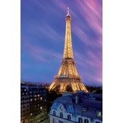 "Pyramid America™ ""Eiffel Tower At Dusk"" Poster"