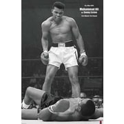 Ace Framing Muhammad Ali vs Liston Portrait Framed Poster, 36 x 24