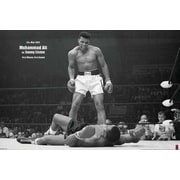 Ace Framing Muhammad Ali vs Liston Landscape Framed Poster, 24 x 36