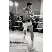 Ace Framing Muhammad Ali Fast Framed Poster, 36 x 24