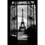 "Pyramid America™ ""Eiffel Tower France 1909"" Poster"