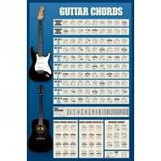 Ace Framing Guitar Chords Framed Poster, 36 x 24