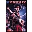 Ace Framing in.Jimi Hendrix Stars & Stripesin. Framed Poster, 36in. x 24in.