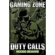 Ace Framing Gaming Zone Duty Calls Framed Poster, 36 x 24