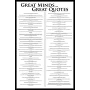 "Pyramid America™ ""Great Minds - Great Quotes"" Poster"
