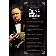 Ace Framing The Godfather Everything I Know Framed Poster, 36 x 24