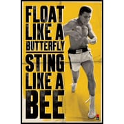 Ace Framing Muhammad Ali Float Like a Butterfly Framed Poster, 36 x 24