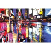 "Pyramid America™ ""Times Square - NYC Colors"" Poster"
