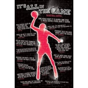 Ace Framing It's All In The Game Basketball Framed Poster, 36 x 24