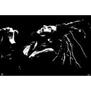 "Ace Framing ""Bob Marley B&W"" Framed Poster, 24"" x 36"""