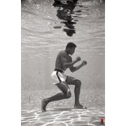 "Pyramid America™ ""Muhammad Ali Underwater Boxing"" Poster"