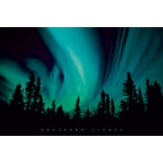 Ace Framing Northern Lights Framed Poster, 24 x 36