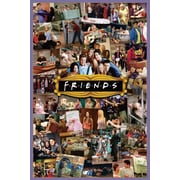 Ace Framing Friends TV Show Montage Framed Poster, 36 x 24