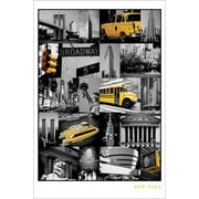 Ace Framing New York City Collage Framed Poster, 36 x 24