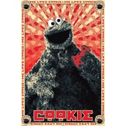 Ace Framing Sesame Street Cookie Monster Framed Poster, 36 x 24