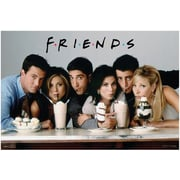 Ace Framing Friends Milkshake Framed Poster, 24 x 36