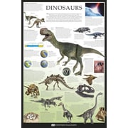 Ace Framing Dinosaurs Dorling Kindersley Framed Poster, 36 x 24