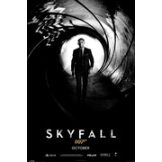 Ace Framing James Bond Skyfall October Teaser 007 Framed Poster, 36 x 24