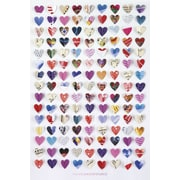 Ace Framing Howard Shooter Paper Hearts Framed Poster, 36 x 24