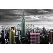 Ace Framing New York Color Splash Framed Poster, 24 x 36