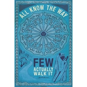 "Ace Framing ""All Know The Way"" Framed Poster, 36"" x 24"""