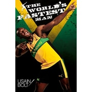 Ace Framing Usain Bolt The World's Fastest Man Framed Poster, 36 x 24