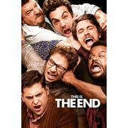 Ace Framing This is the End One Sheet Framed Poster, 36 x 24
