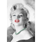 Ace Framing Jerry Michaels Marilyn Monroe Diamonds Are A Girls Best... Framed Poster, 36 x 24