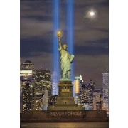Ace Framing 9-11 - Statue of Liberty 3D Poster, Large