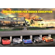 Ace Framing Justification For Higher Education Framed 3D Poster, Large