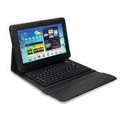 "Mgear Accessories 93587624M PU Leather Keyboard Folio Case for 10.1"" Samsung Galaxy Tab 2 Tablet, Black"