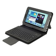 "Mgear Accessories 93587646M PU Leather Keyboard Folio Case for 7"" Samsung Galaxy Tab 2 Tablet, Black"