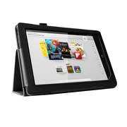 "Mgear Accessories 93587298M Synthetic Leather Double Fold Folio Case for 9"" Nook HD+ Tablet, Black"