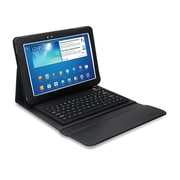"Mgear Accessories 93587352M PU Leather Keyboard Folio Case for 10.1"" Samsung Galaxy Tab 3 Tablet, Black"
