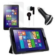 "Mgear Accessories 93587789M Tri Fold Folio Case for 8"" Lenovo Miix 2 Tablet, Black"