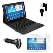"Mgear Accessories Samsung Galaxy Tab 3 Earphones, Screen Protector and Car Charger 10.1"" Tablet"
