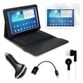 Mgear Accessories Samsung Galaxy Tab 3 Bluetooth Keyboard Folio with Earphones