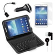 Mgear Accessories Samsung Galaxy Tab 3 Bluetooth Keyboard Folio with Earphones, 8in. Tablet