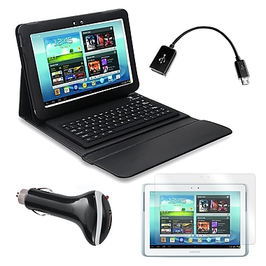 Mgear Accessories 93587962M PU Leather Keyboard Folio Case for 10.1