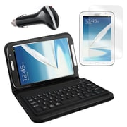 "Mgear Accessories Bluetooth Keyboard Folio, Screen Protector & More Samsung Galaxy Note 8"" Tab"