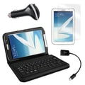 Mgear Accessories Samsung Galaxy Note Bluetooth Keyboard Folio, Screen Protector & More, 8in. Tab