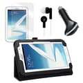 Mgear Accessories Samsung Galaxy Note Folio Case with Earphones, Screen Protector, and Car Charger