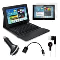 Mgear Accessories Bluetooth Keyboard Folio with Earphones and More for Samsung Galaxy Tab 2
