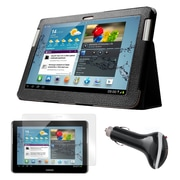 "Mgear Accessories 93587979M Synthetic Leather Accessory Kit for 10.1"" Samsung Galaxy Tab 2, Black"